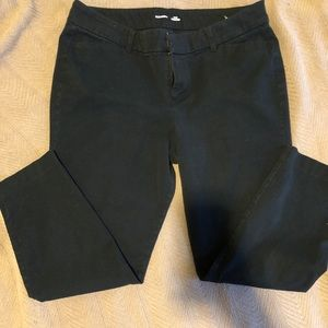 Old Navy Black Ankle Pants Pixie